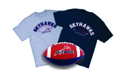 Double Roll Athletics T-shirts & Skyhawks Football Image