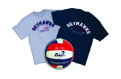 Double Roll Athletics T-shirts & Baden Volleyball Image