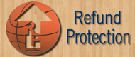 Peace of Mind - Refund Protection